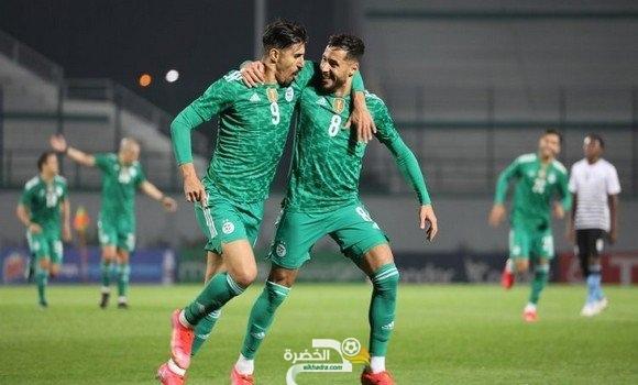تصفيات كأس أمم افريقيا 2021 : بونجاح ثاني أحسن هداف و''الخضر'' أفضل هجوم 23