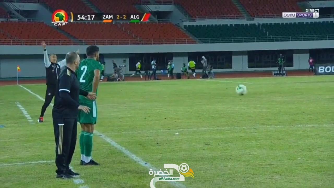 شاهد هدف سليماني الثاني ضد زامبيا اليوم 23