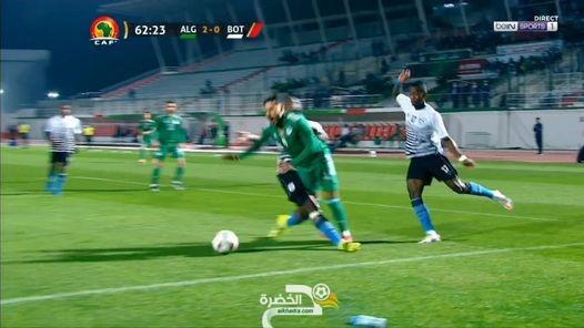 شاهد هدف محرز ضد بوتسوانا 1