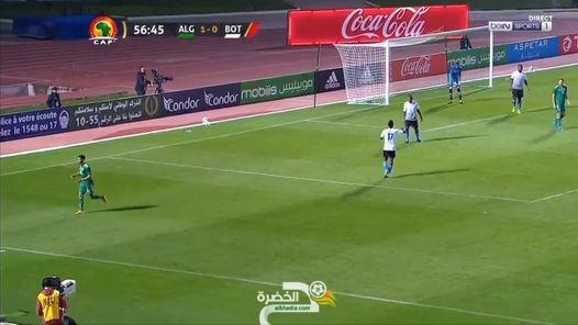 شاهد هدف فيغولي ضد بوتسوانا بتعليق حفيظ دراجي 1