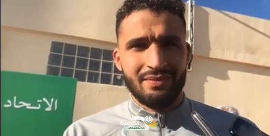 أحمد توبة يحظى باستقبال رائع وجميل من طرف أسرة اتحاد بسكرة 2