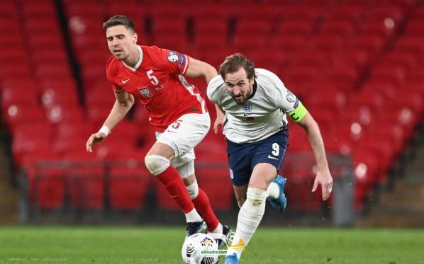 إنجلترا تفوز على بولندا في التصفيات المؤهلة لمونديال 2022 1
