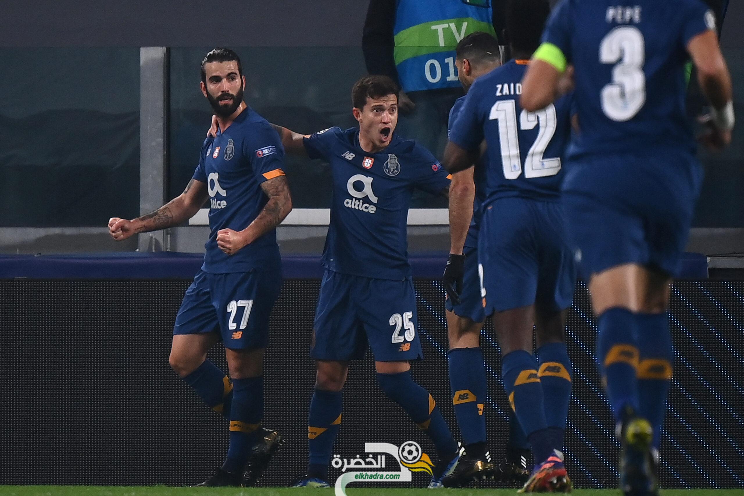 بورتو يبلغ ربع نهائي دوري أبطال أوروبا 23