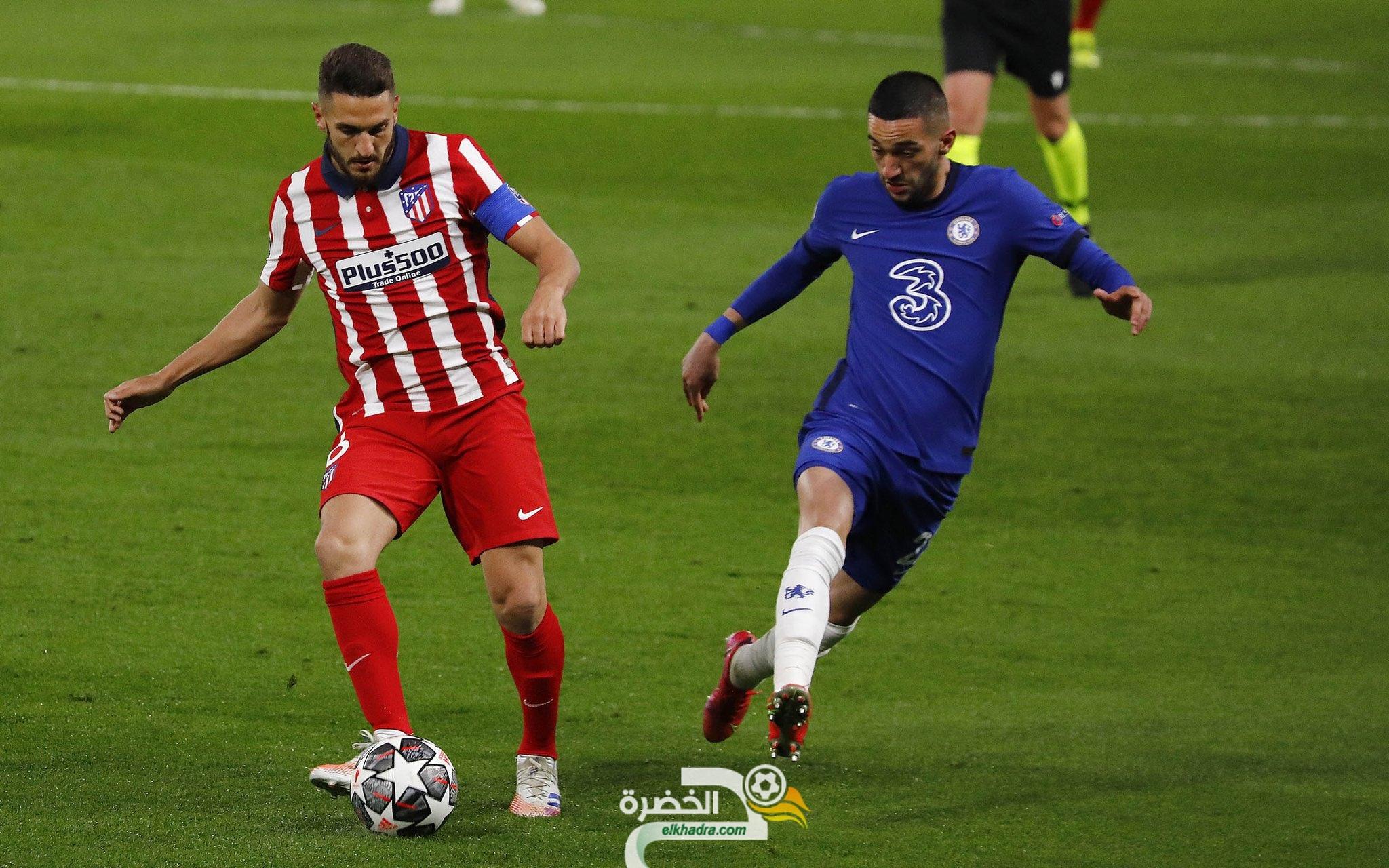 حكيم زياش يقود تشيلسي للفوز على اتلتيكو مدريد و التأهل للدور ربع النهائي 23