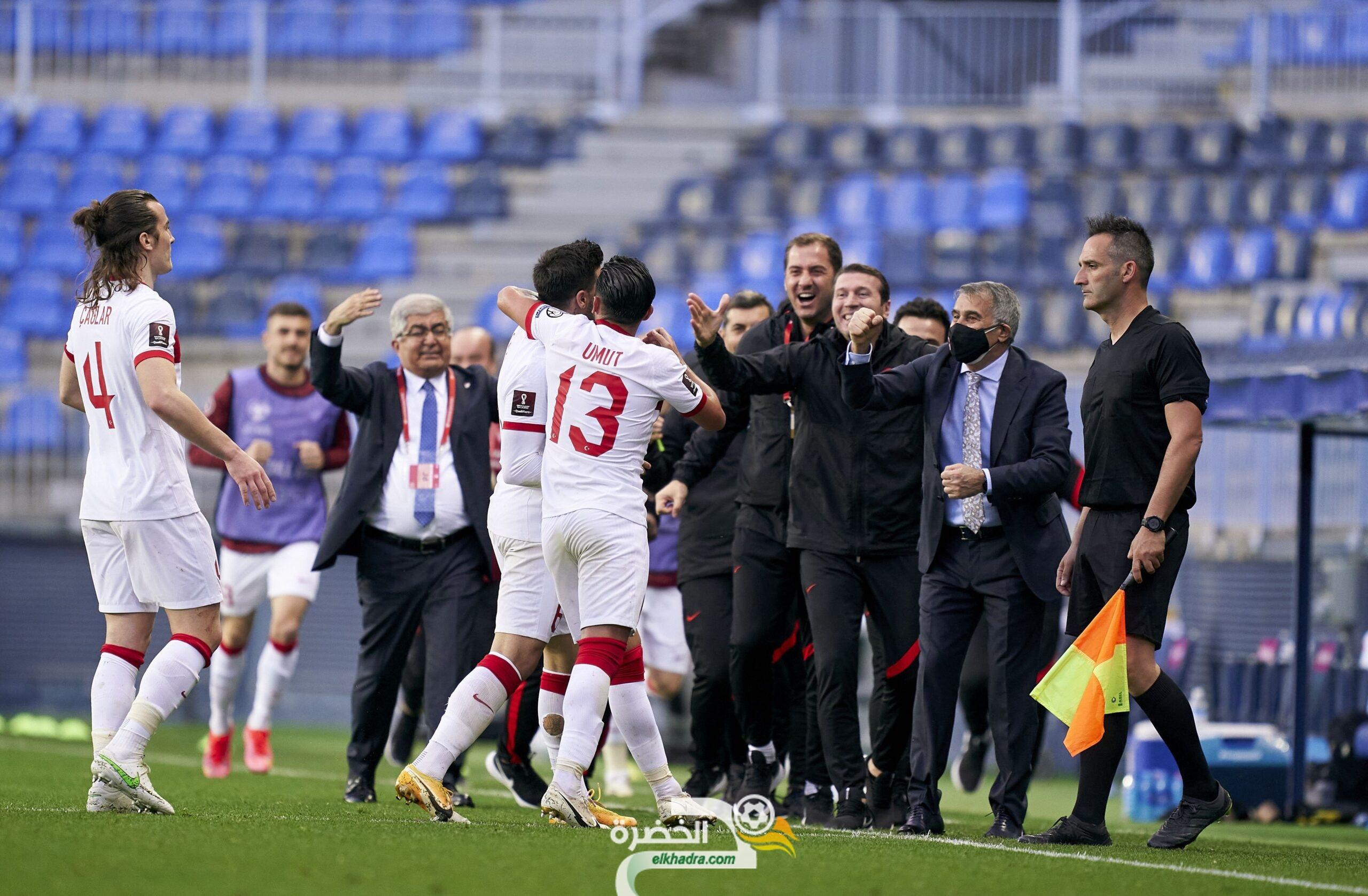 منتخب تركيا يفوز على النرويج ويتصدر المجموعة السابعة من التصفيات الأوروبية 23