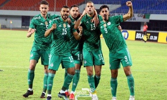 """""""الخضر"""" سلسلة 23 مباراة دون هزيمة 23"""