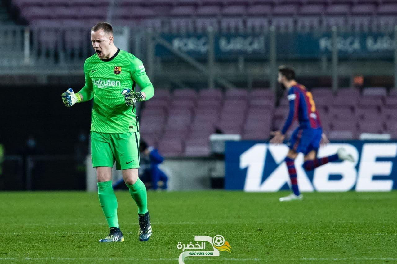 برشلونة يحقق الريمونتادا ويقصي إشبيلية من كأس الملك 24