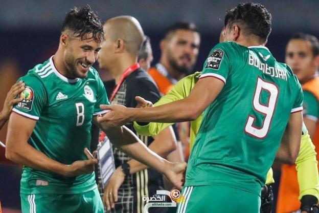 التشكيلة المحتملة للمنتخب الجزائري ضد زامبيا 1