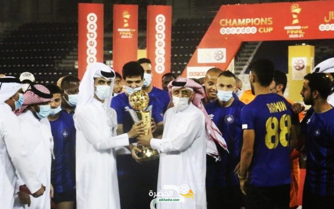 نذير بلحاج يتوج بكأس قطر على حساب براهيمي 23