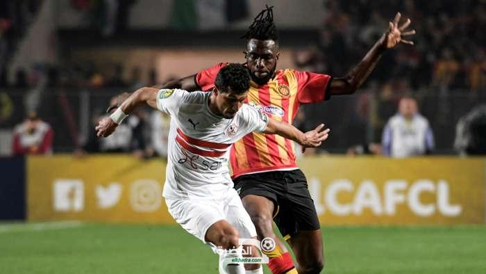 القنوات الناقلة وتوقيت  لمباراة الزمالك والترجي في دوري أبطال إفريقيا 2021 26