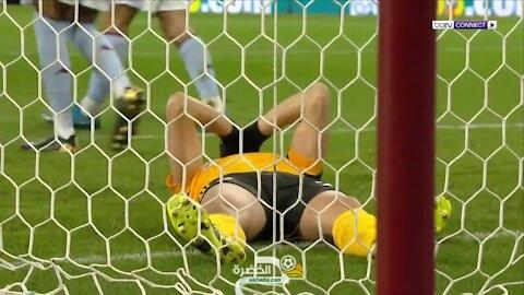 بطريقة غريبة المغربي رومان سايس يحرم فريقه من الفوز ويضيع فرصة هدف مؤكد 37