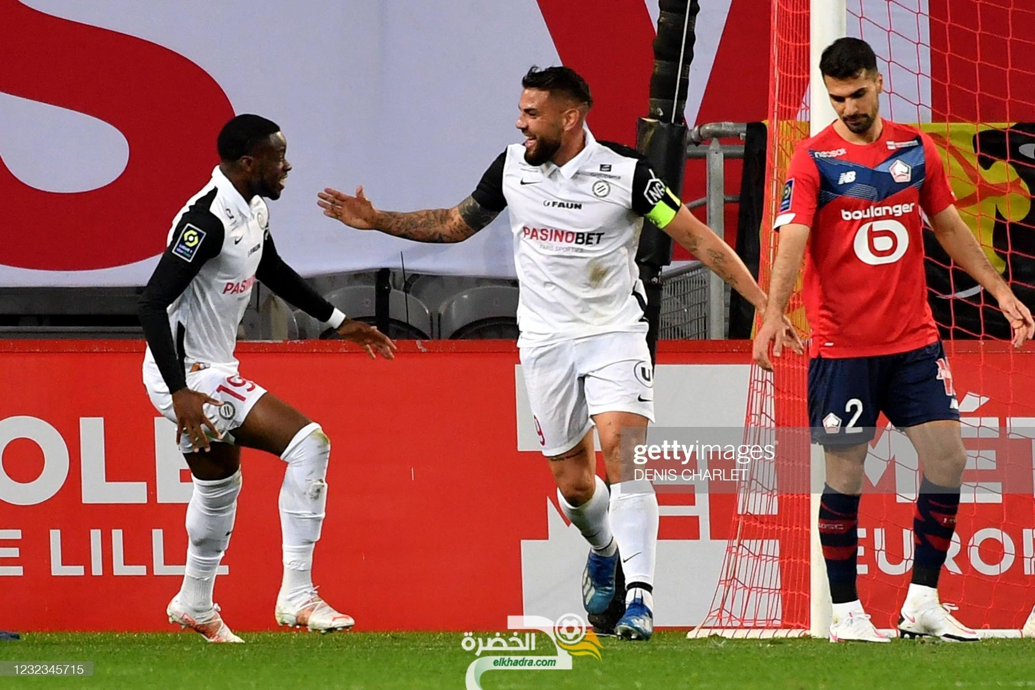 أندي ديلور هداف ومونبلييه يكتفى بالتعادل امام المتصدر نادي ليل 23