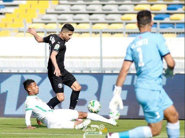 الرجاء المغربي يفوز على ضيفه بيراميدز المصري بثنائية 4