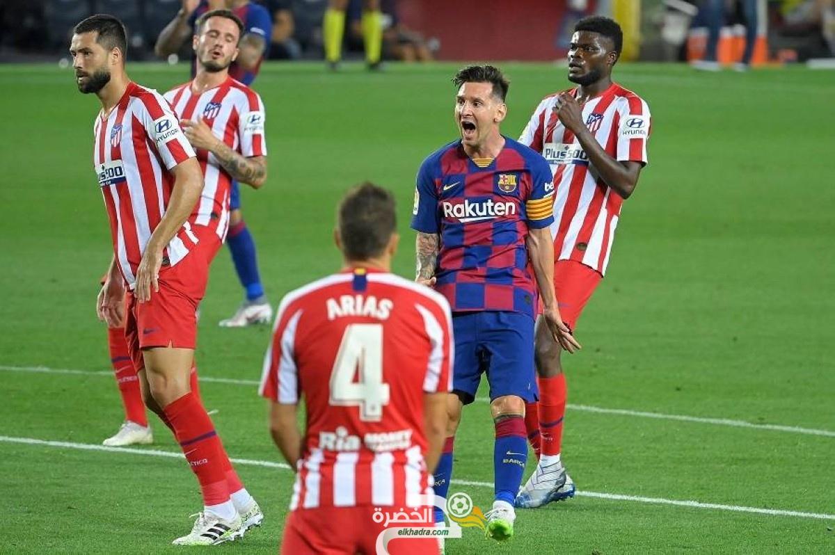 """رابطة """"لا ليجا"""" تعلن موعد مباراة برشلونة وأتلتيكو مدريد 56"""