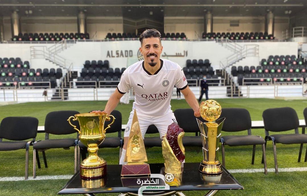 رسميا : بغداد بونجاح يتوج هدافا لدوري نجوم قطر موسم 2020-2021 23