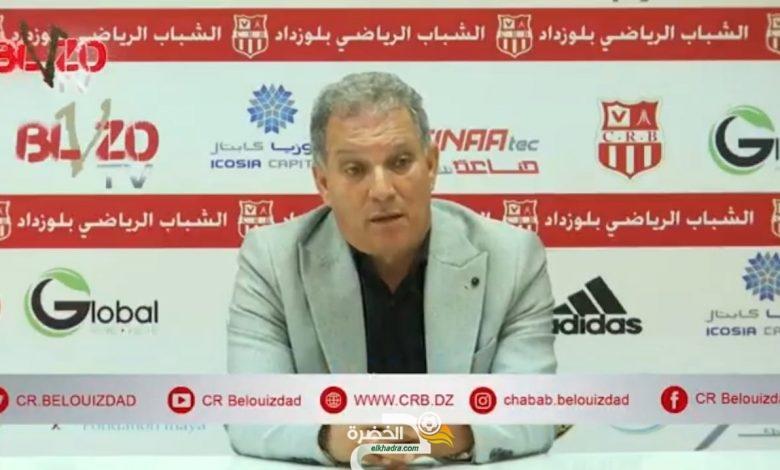 """ياحي : """"شباب بلوزداد باشر المفاوضات مع عدة مدربين"""" 33"""