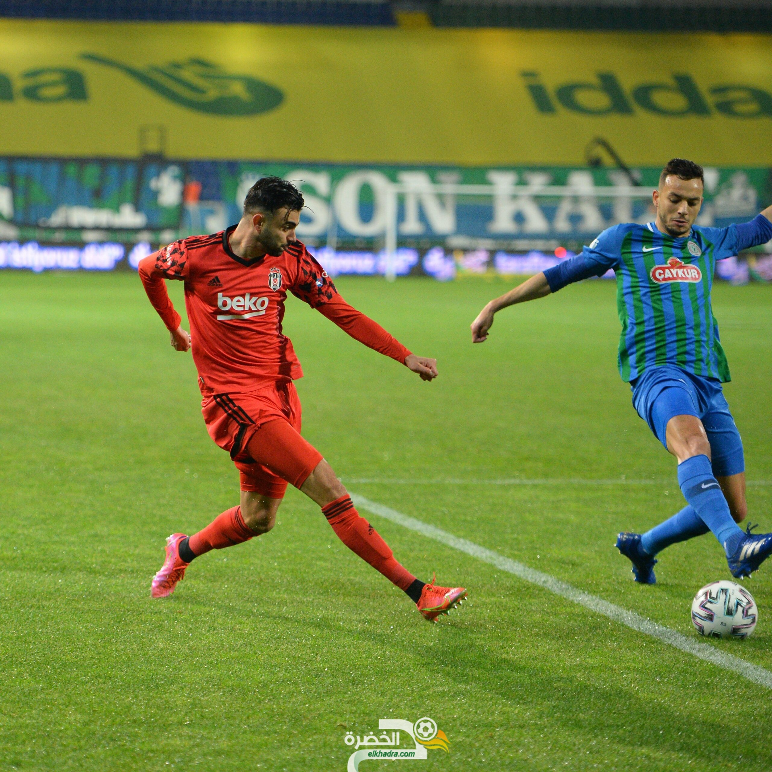 كأس تركيا : رشيد غزال يتوج بالدوبلي مع بيشكتاش 7