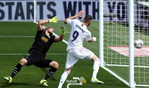 ريال مدريد يفوز على إيبار بثنائية في الجولة 29 من الليجا 23