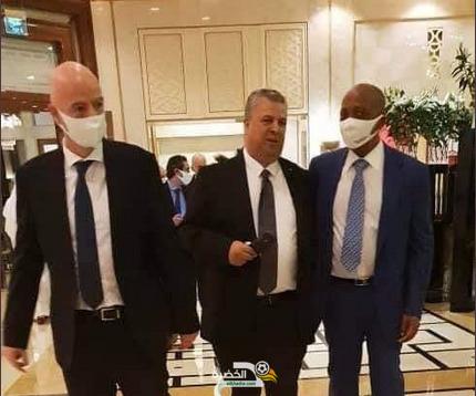 الرئيس الجديد للفاف يدعو جياني أنفانتينو لزيارة الجزائر 27