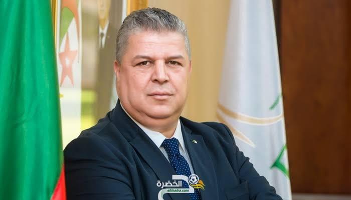 """عمارة : """"المنتخب الوطني هو حامل رايتنا ومصدر فخر لكل الجزائريين"""" 28"""