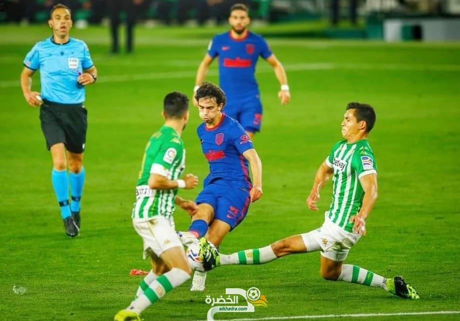 ماندي يقود ريال بيتيس لتعادل مثير امام أتلتيكو مدريد 1