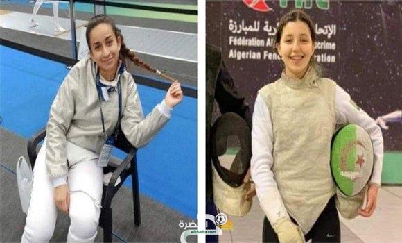 مبارزة: تأهل الجزائريتين كوثر محمد بلبكير و مريم مباركي لأولمبياد طوكيو 25