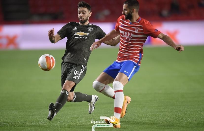 الدوري الأوروبي : مانشستر يونايتد يعود بفوز ثمين من ميدان غرناطة الإسباني 8