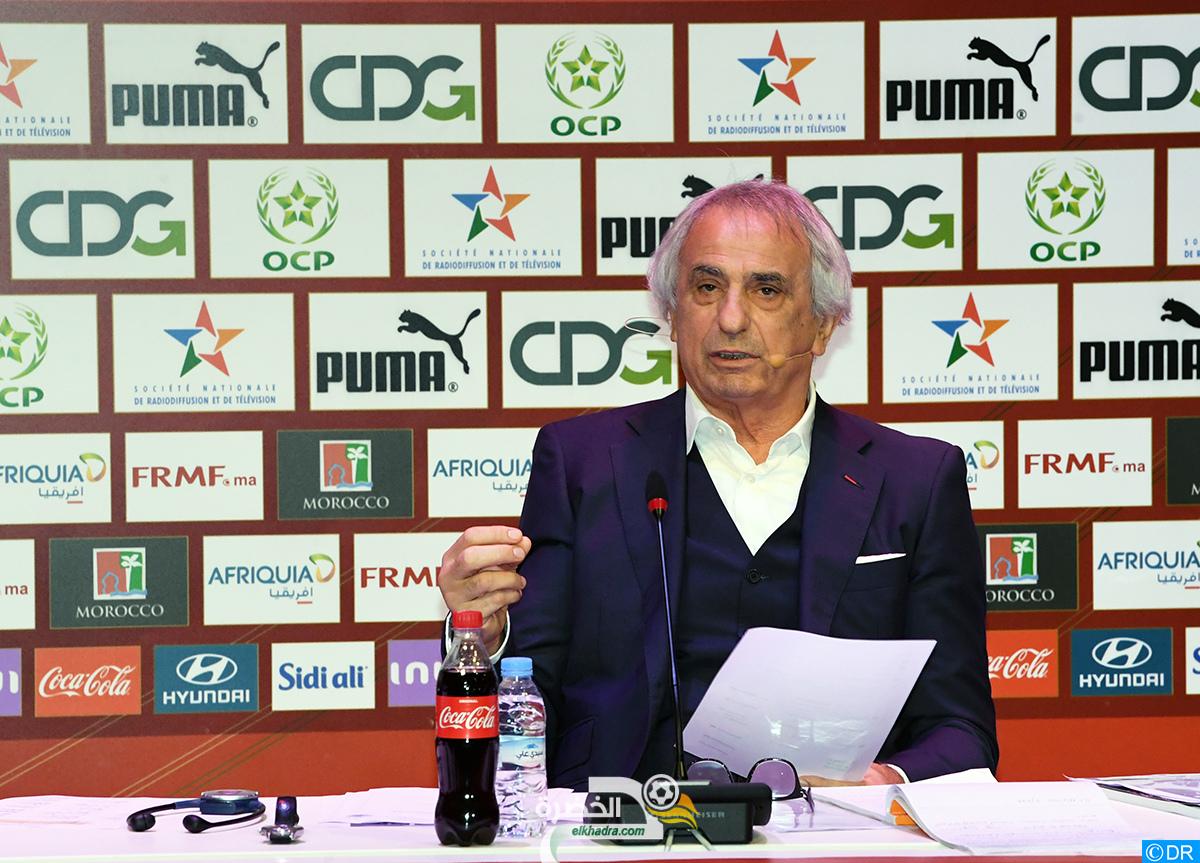 """حاليلوزيتش : """"لقجع والكثير من الحضور هنا لم يهضموا تتويج الجزائر بكأس افريقيا"""" 3"""