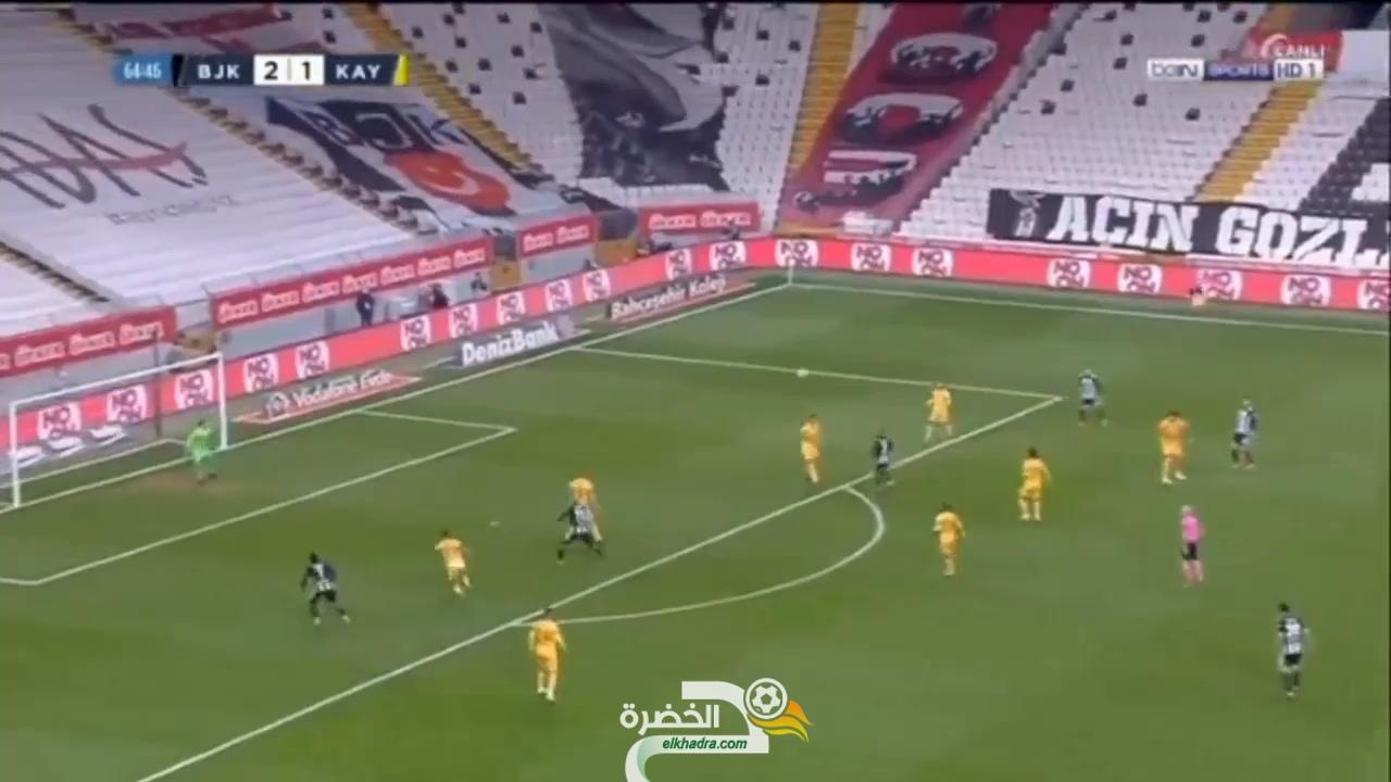 شاهد فيديو الأسيست 15 لرشيد غزال في الدوري التركي اليوم 1