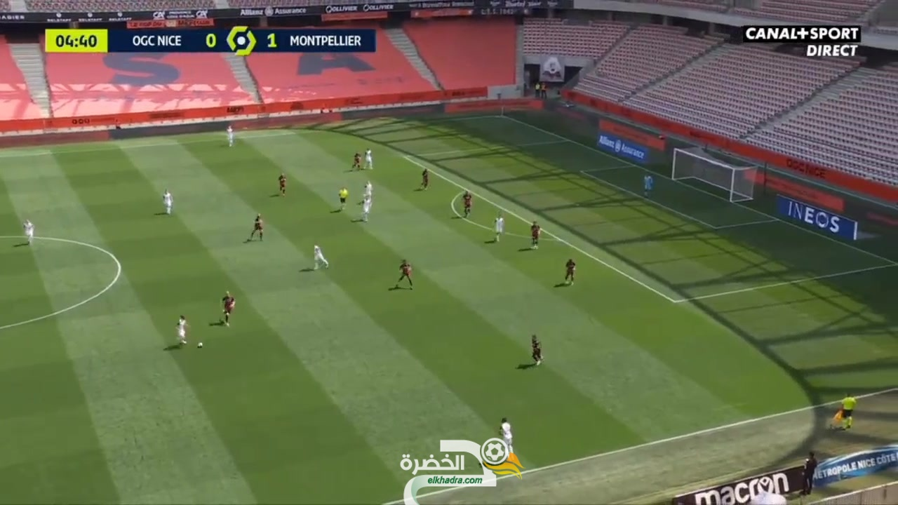 شاهد فيديو هدف بوداوي ضد مونبيليه اليوم 11