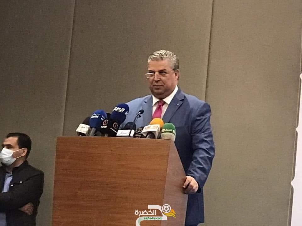 الإتحادية الجزائرية لكرة القدم: شرف الدين رئيسا جديدا للفاف بشكل رسمي 1