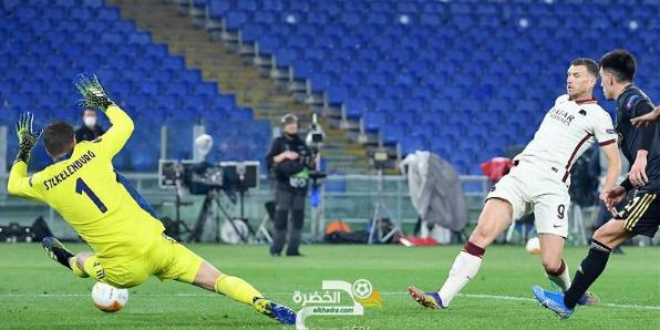 روما يتأهل لنصف نهائي الدوري الأوروبي 4