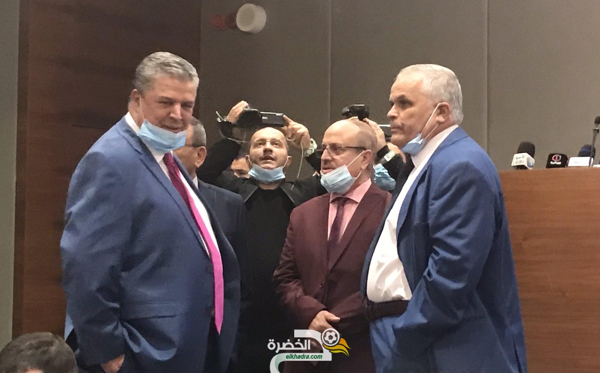 """اهم تصريحات شرف الدين عمارة """" كمرشح لرئاسة الفاف"""" 26"""