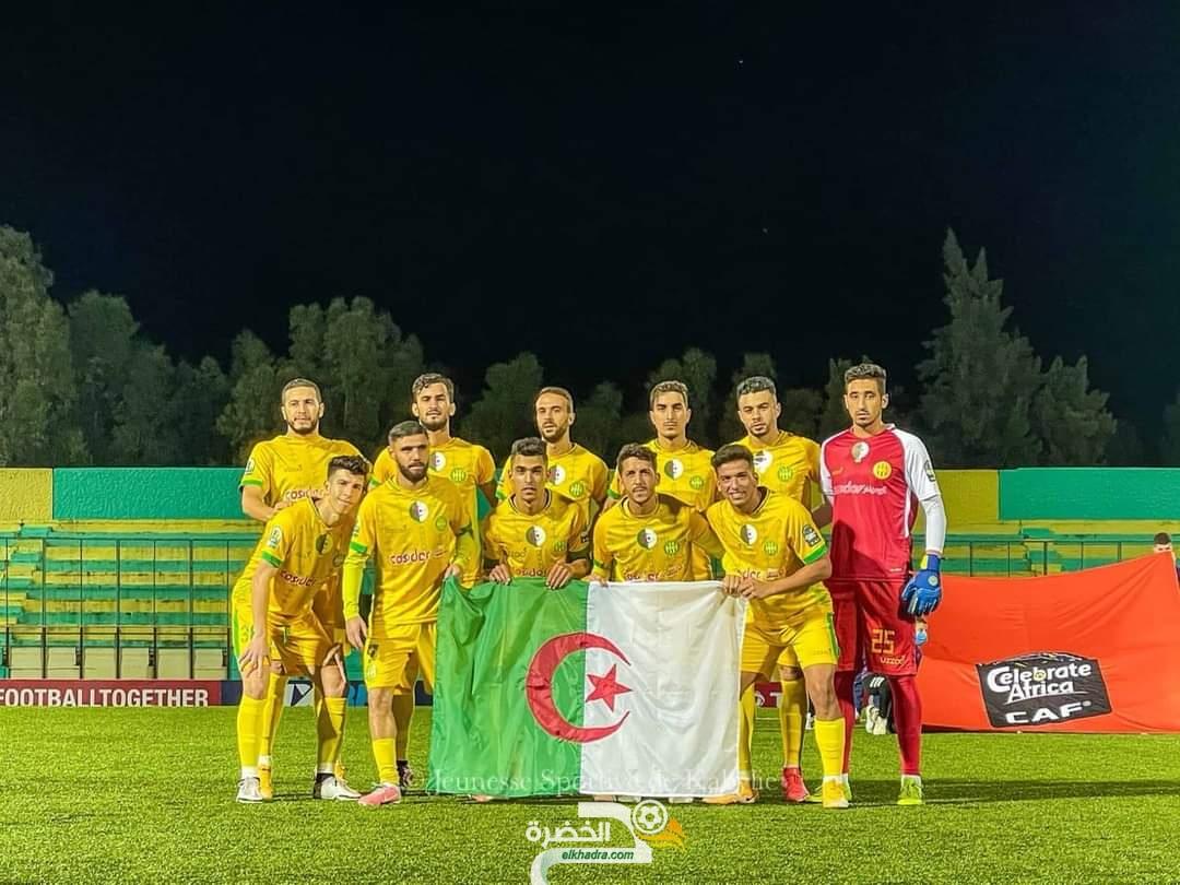نهائي كأس الرابطة بين شبيبة القبائل و نجم مقرة يوم 10 أوت بملعب 5 جويلية 9
