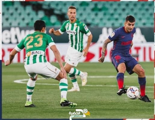 ماندي يقود ريال بيتيس لتعادل مثير امام أتلتيكو مدريد 2