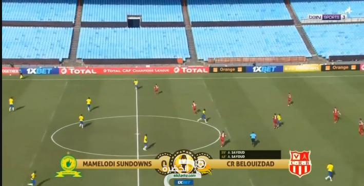 شاهد أهداف شباب بلوزداد ضد ماميلودي دي صاندوز 2-0 23
