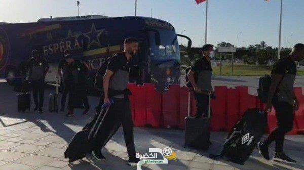 بعثة الترجي الرياضي التونسي في الجزائر لمواجهة شباب بلوزداد 13