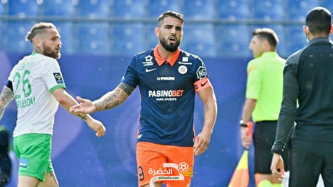 ديلور هداف في هزيمة مونبلييه ضد سانت إيتيان 23