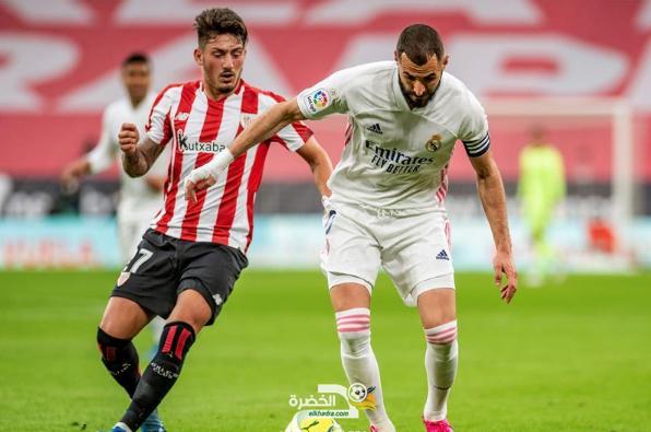 ريال مدريد يفوز على أتلتيك بيلباو في سباق الليغا 7