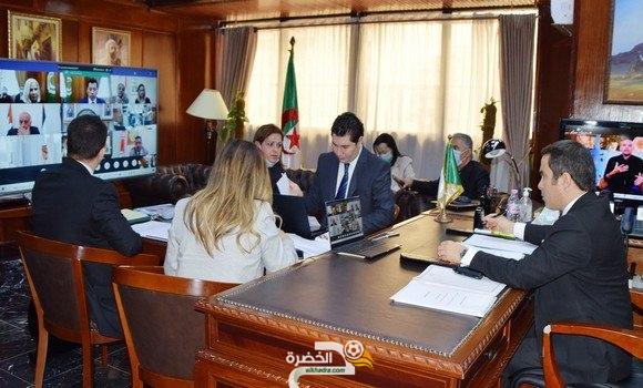 خالدي يشارك في أشغال الدورة العادية (44) لمجلس وزراء الشباب والرياضة العرب 5