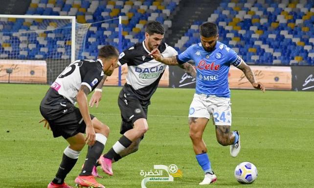 الدوري الإيطالي : نابولي يكتسح ضيفه أودينيزي بخماسية 2