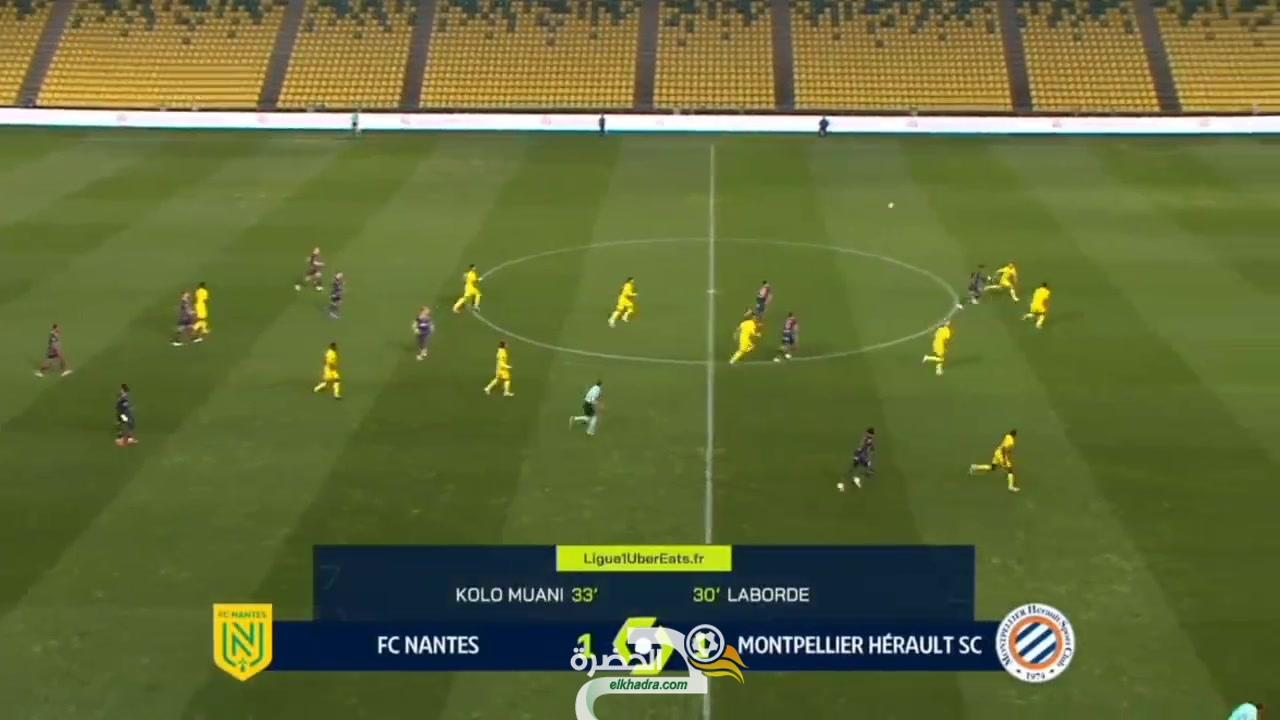 شاهد بالفيديو هدف ديلور ضد نانت اليوم 1