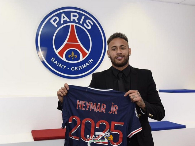 نيمار يمدد عقده مع باريس سان جيرمان حتى 2025 1