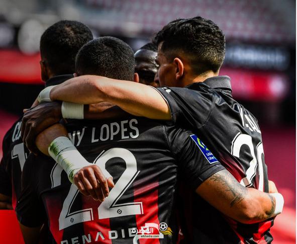 الدوري الفرنسي : بوداوي هداف ويقود نيس للفوز على بريست 1