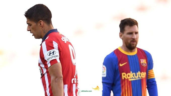 التعادل السلبي يحسم قمة برشلونة وضيفه أتلتيكو مدريد 25