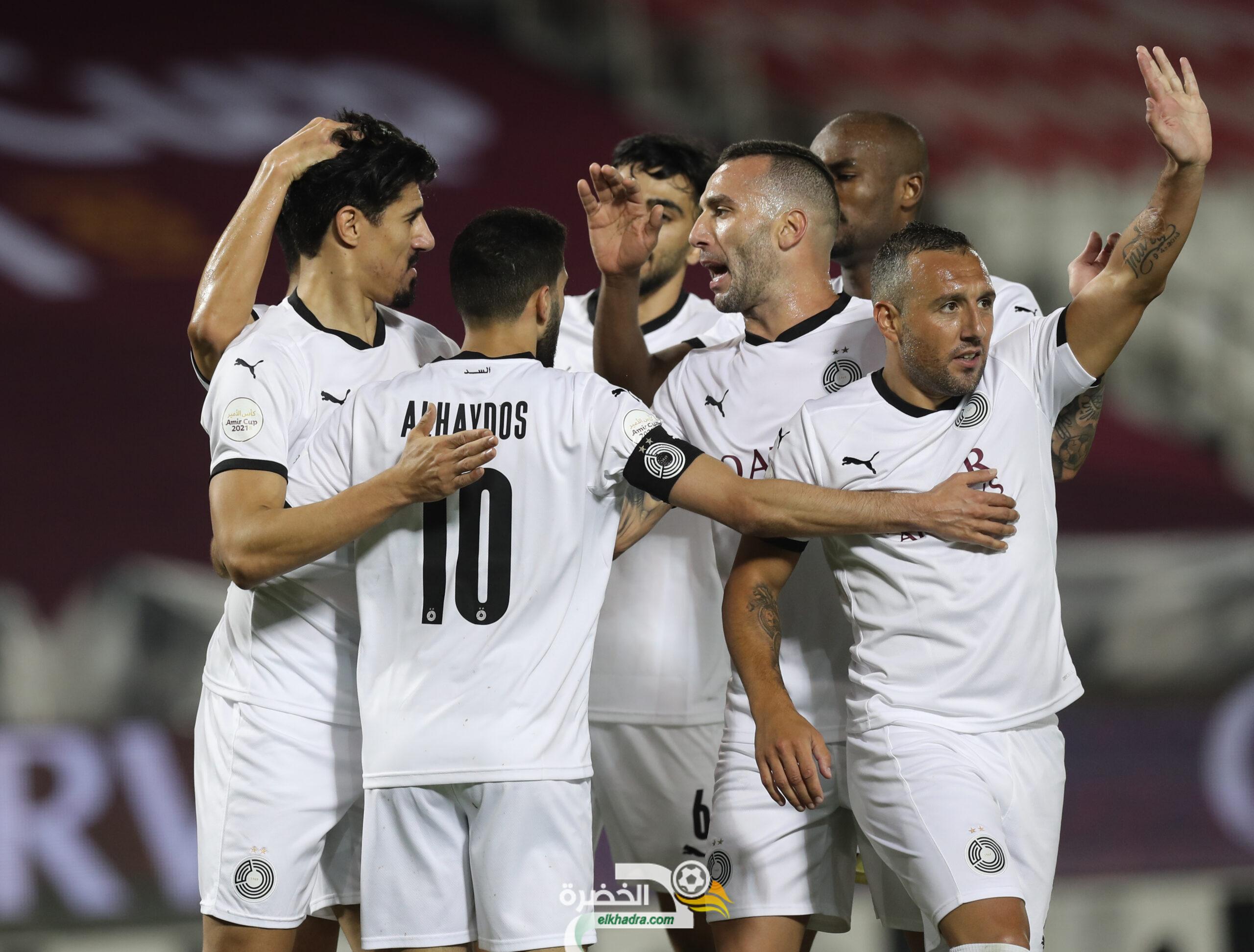 كأس قطر : بونجاح هداف ويقود السد لتجاوز نادي العربي 12