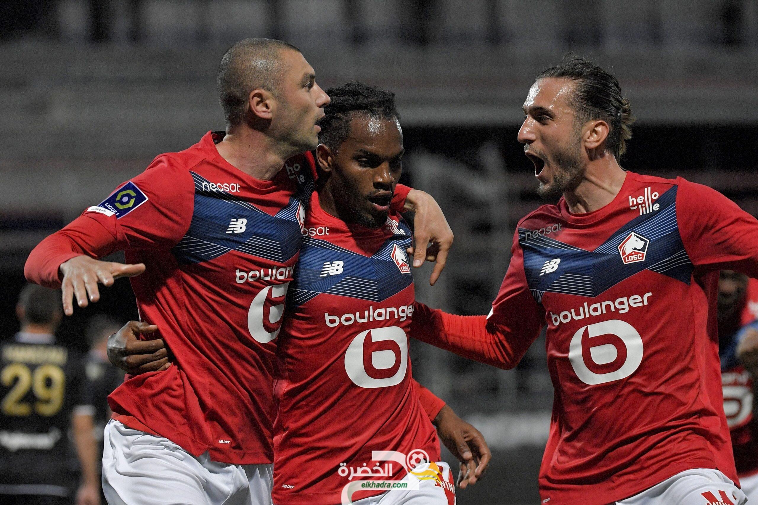 ليل يعود من بعيد ويتوج بطلًا للدوري الفرنسي للمرة السادسة في تاريخه 1