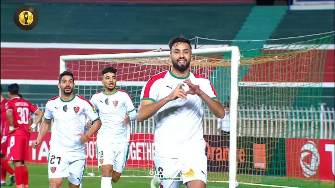 المولودية تكتفى بالتعادل امام الوداد المغربي في دوري الابطال 4