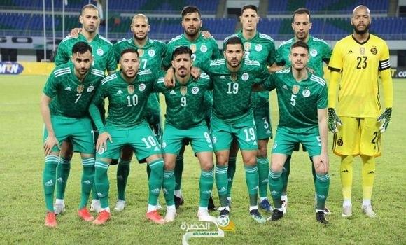 الخضر في مواجهة مالي وتونس وديا شهر جوان المقبل 31