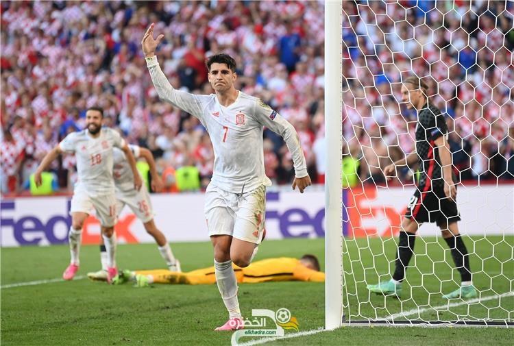 يورو 2020: إسبانيا تفوز على كرواتيا بنتيجة 5-3 و تعبر إلى دور ربع النهائي 11